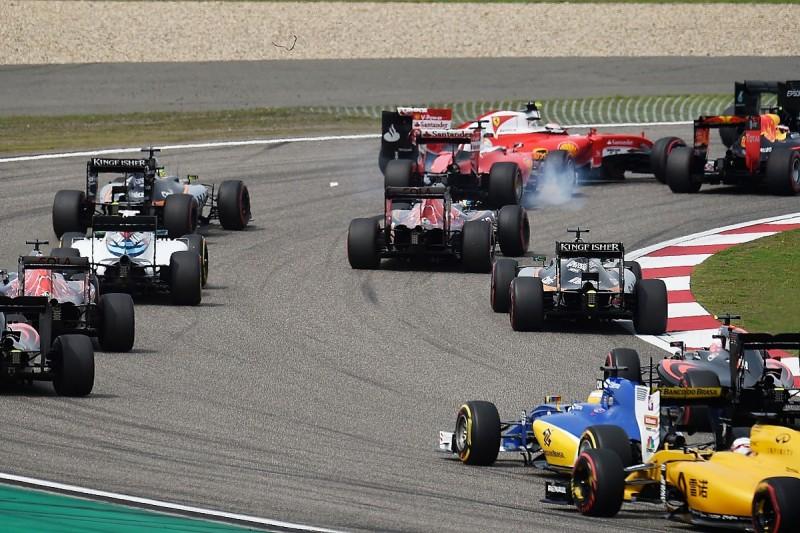 Sebastian Vettel: Daniil Kvyat clash in China just racing incident