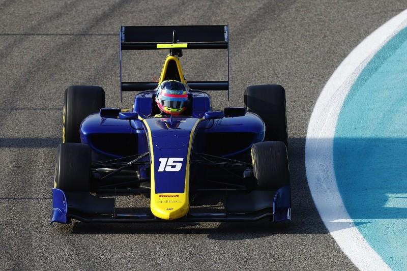 Ferdinand Habsburg tops final day of GP3 testing in Abu Dhabi