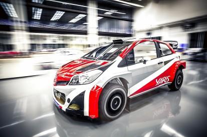 Toyota's 2017 WRC Yaris starts testing with Tommi Makinen