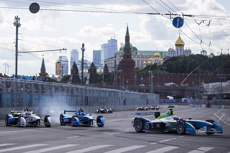 Formula E considers replacements for Moscow round