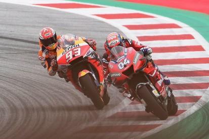 """Dovizioso """"didn't prepare"""" for final corner lunge on Marquez"""