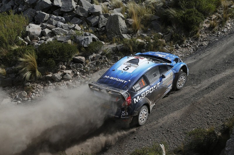Mads Ostberg and M-Sport WRC team at odds over poor Argentina pace