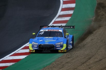 DTM Brands Hatch: Frijns's Audi filled with smoke for last 20 laps