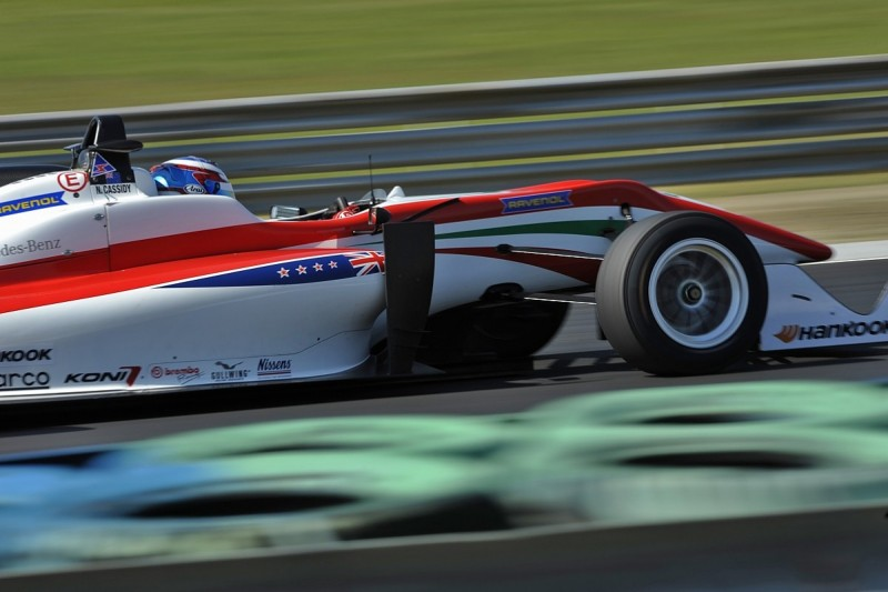 Prema mystified by Hungaroring European F3 tyre dramas