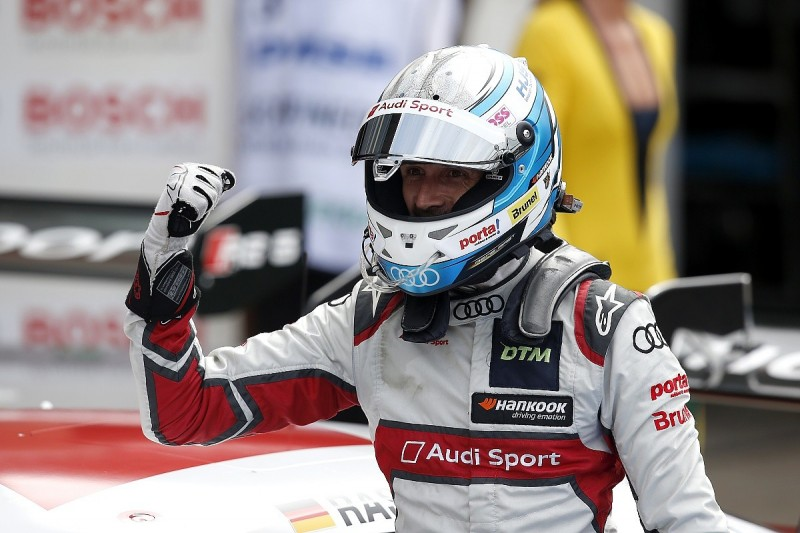 Rast beats Audi stablemate Muller to victory in Brands DTM finale