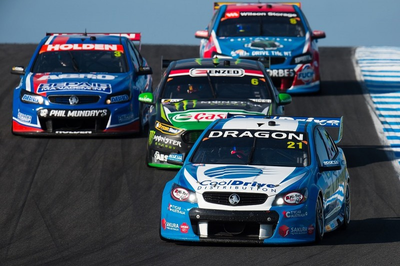 'V8' dropped from Australian Supercars' series name