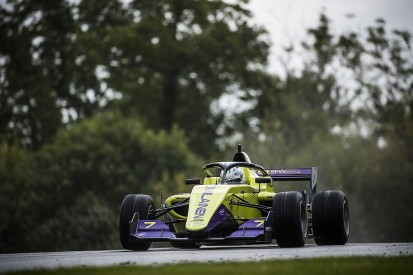 Brands Hatch W Series: Emma Kimilainen leads both practice sessions