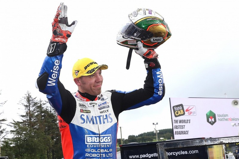 Ulster Grand Prix: Peter Hickman wins again in Superbike race two