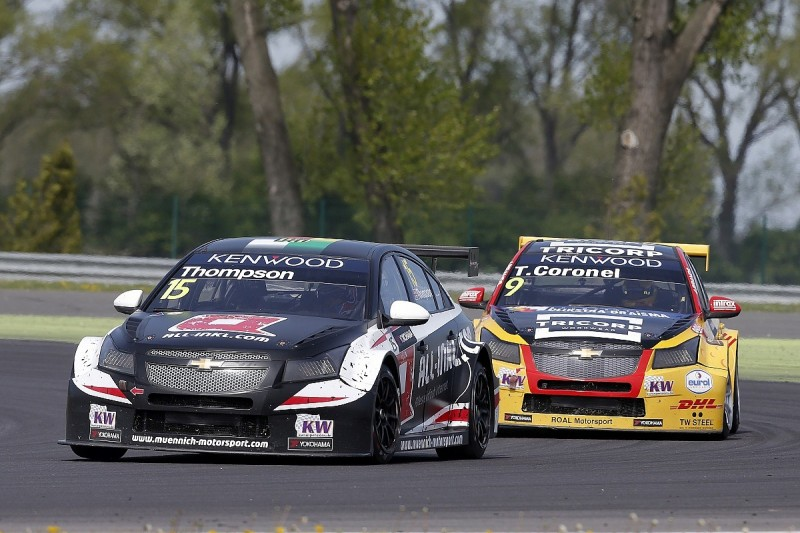 James Thompson handed second WTCC outing with Munnich Motorsport
