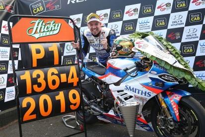 Ulster GP SBK winner Hickman: Record lap testament to new BMW bike