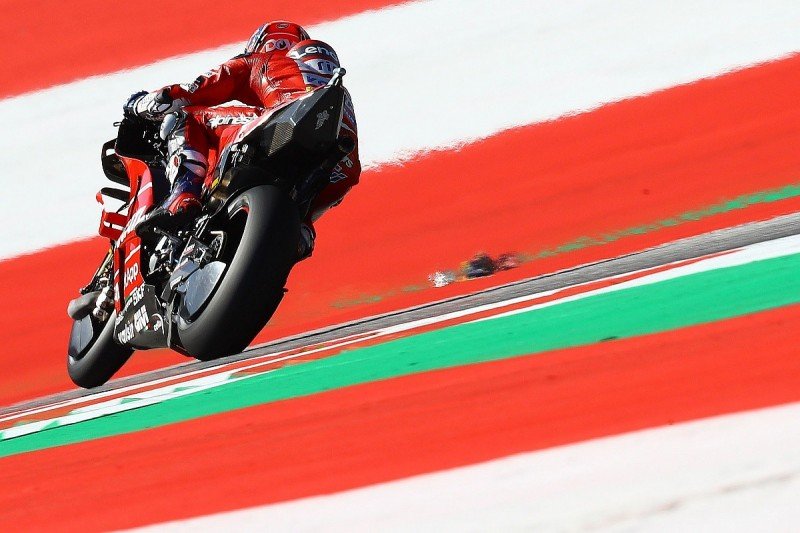 Red Bull Ring MotoGP: Dovizioso beats Marquez late in first practice