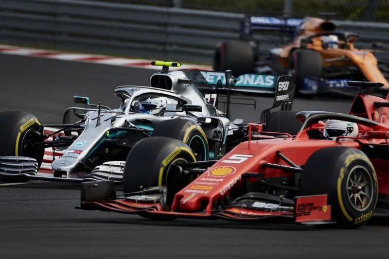 Gap to Mercedes can't be Ferrari's only F1 2019 target