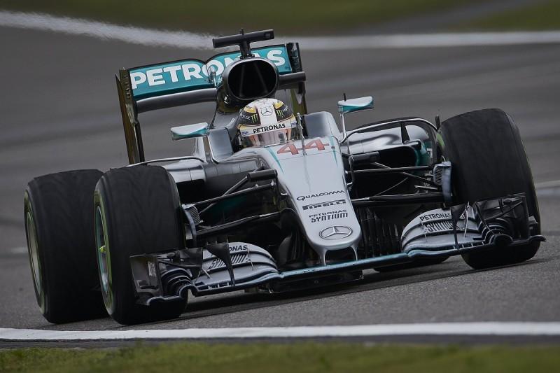 Hamilton to use failed Mercedes power unit as F1 spare
