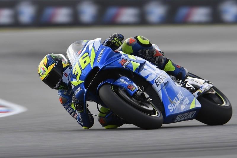 Suzuki's Mir to miss Austrian GP with MotoGP Brno testing injury