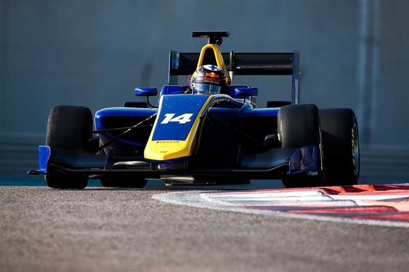 Abu Dhabi GP3 test: Outgoing Red Bull junior Kari leads for MP