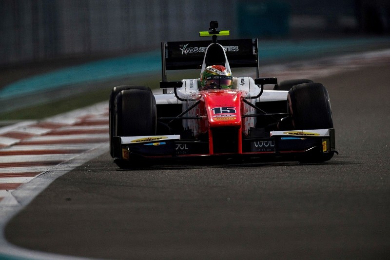 F2 testing: Louis Deletraz fastest on first day at Yas Marina