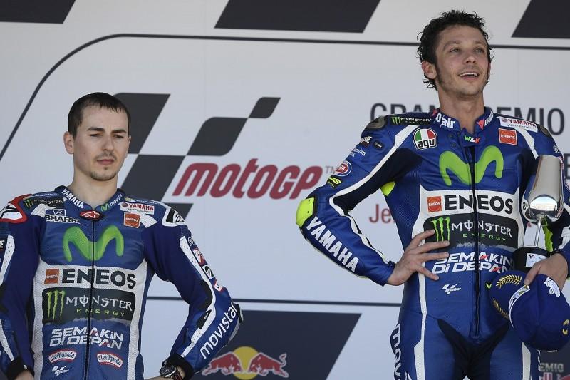 Jorge Lorenzo had to use 80 per cent throttle in Jerez MotoGP race
