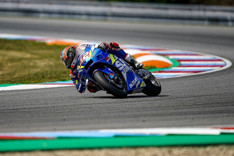 """Rins feared tyre would """"explode"""" in MotoGP Czech GP"""