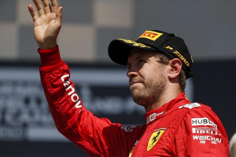 Unhappy Ferrari driver Vettel rates his Formula 1 season 5/10 so far