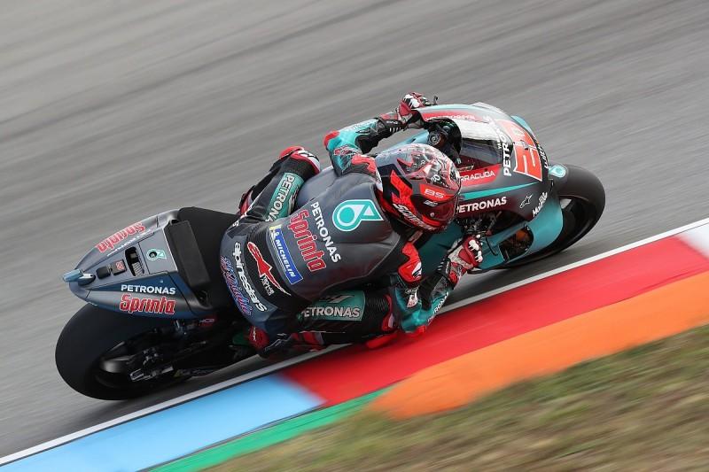 Fabio Quartararo fastest in MotoGP Brno test as Yamaha shows pace