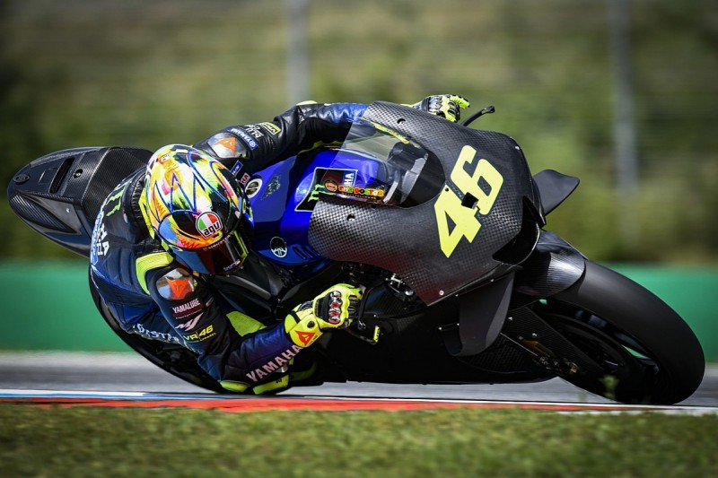 """Valentino Rossi expected """"a lot more"""" from 2020 Yamaha MotoGP test"""