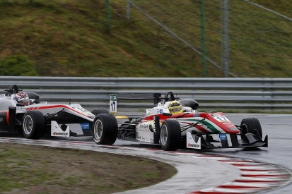 Russell gets European F3 penalty for clash with Gunther