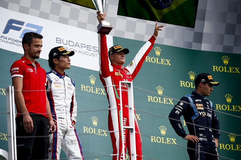Mick Schumacher F2 celebrations reminded me of Michael - F1's Brawn