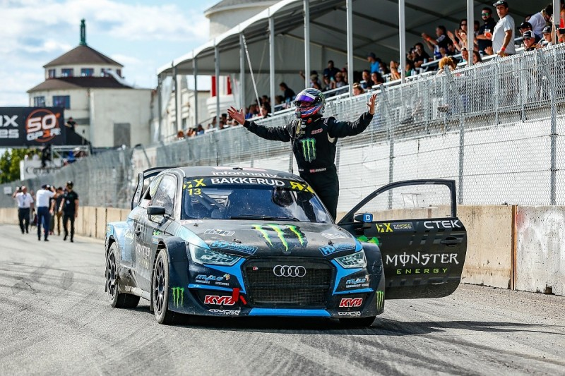 Trois-Rivieres World RX: Bakkerud in firm title contention with win