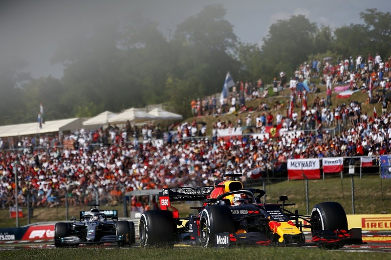 """Red Bull, Verstappen in """"all to lose"""" position in Hungary - Horner"""