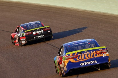 NASCAR champion Truex: 'Awesome' to beat Busch/Gibbs with their kit