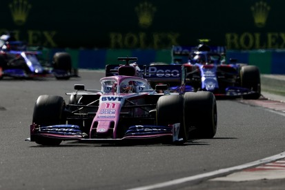 Perez: Unseen Albon clash over F1 Hungarian GP point unnecessary