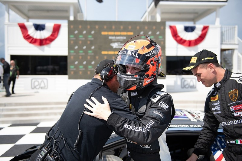 Mitchell and Amici close in on Super Trofeo North America points lead