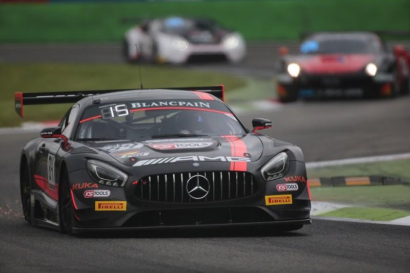 HTP Mercedes driver Buhk takes pole for Monza Blancpain Endurance