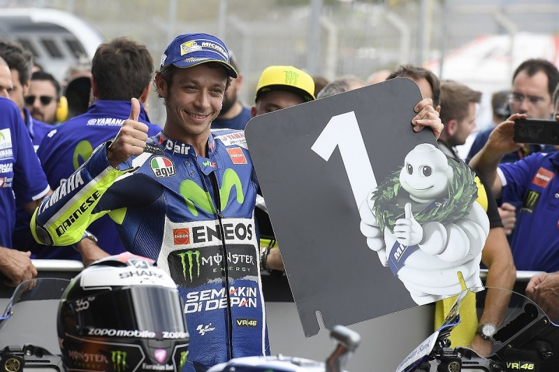MotoGP Jerez: Valentino Rossi takes pole position