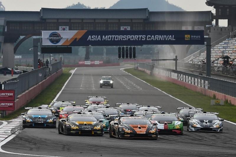 Puhakka/Kasai extend Lamborghini Super Trofeo Asia points lead