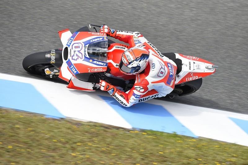 Dovizioso says MotoGP winglet complaints are from Ducati advantage