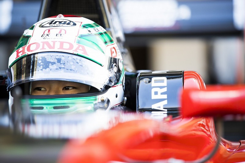 Honda junior Fukuzumi in line for F2 graduation with Arden for 2018