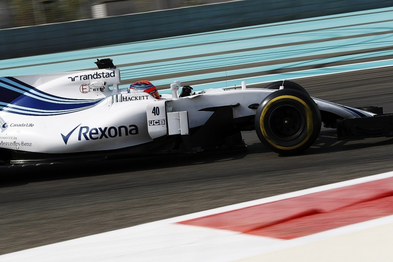 Robert Kubica completes first day of key Williams Formula 1 test