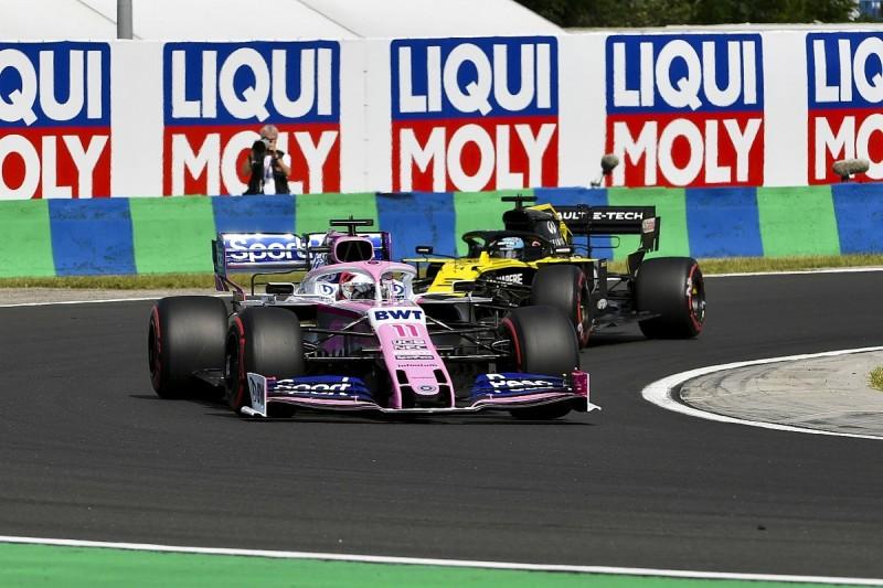 "Perez: Late Ricciardo Hungary F1 Q1 pass attempt ""disrespectful"""