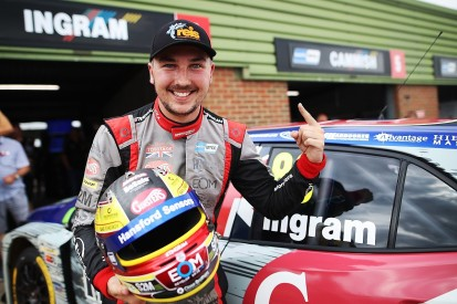 Snetterton BTCC: Ingram gives new Toyota Corolla first series pole