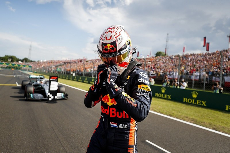 Verstappen: Hungary F1 pole down to Honda gains since start of 2019