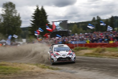 Rally Finland WRC: Tanak moves clear after trouble for team-mates