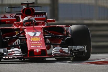 Ferrari's Raikkonen fastest on first day of Abu Dhabi F1 tyre test
