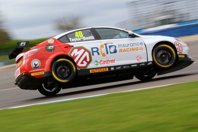 BTCC race winner Aron Taylor-Smith steps away to target GT racing