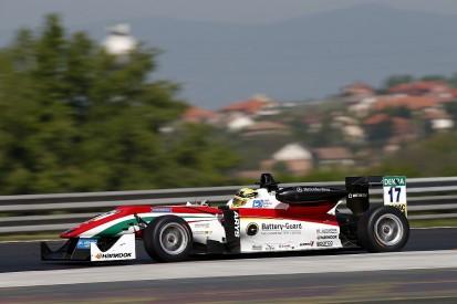 Maximilian Gunther completes Hungaroring European F3 pole hat-trick