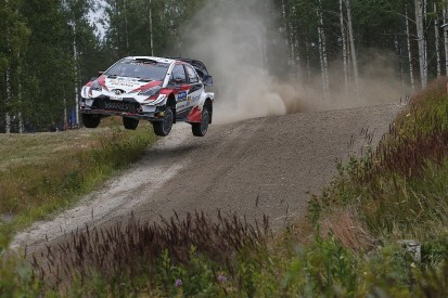 Rally Finland WRC: Meeke retires from third after hitting rock