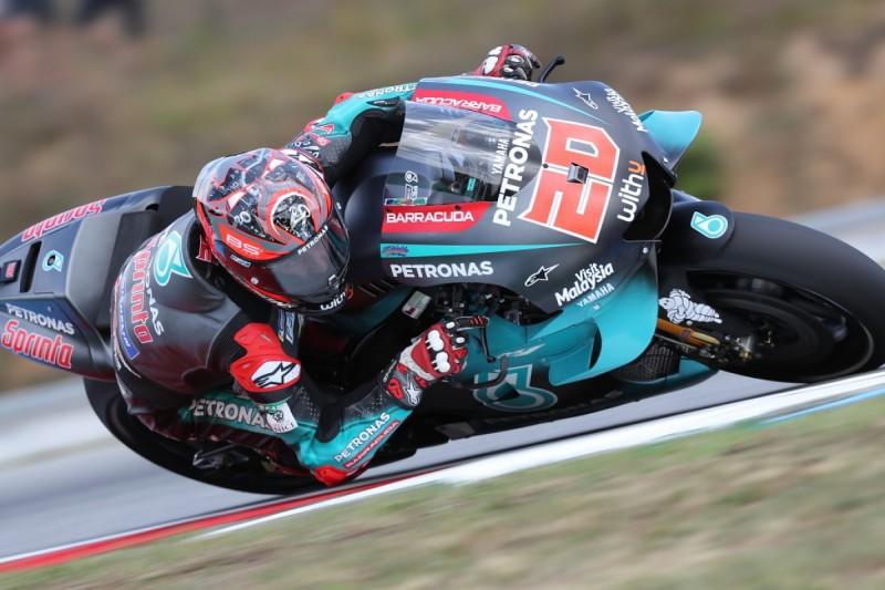 Quartararo pips Marquez to head Brno MotoGP FP2
