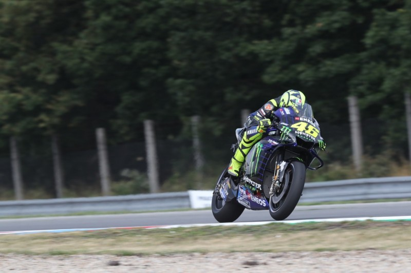 """Failed Czech GP FP2 engine was an """"old"""" unit - Rossi"""