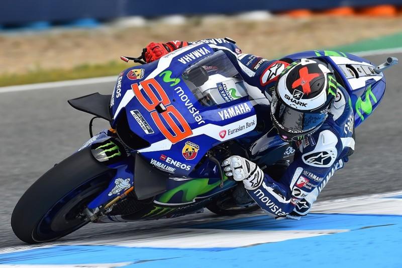 Jorge Lorenzo denies Hector Barbera Jerez MotoGP practice top spot