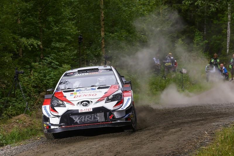 Rally Finland WRC: Tanak leads early Toyota 1-2-3, Neuville plummets